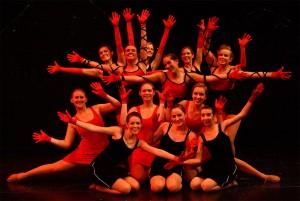 CannedSwank Dance Photo - Holiday Show advanced jazz